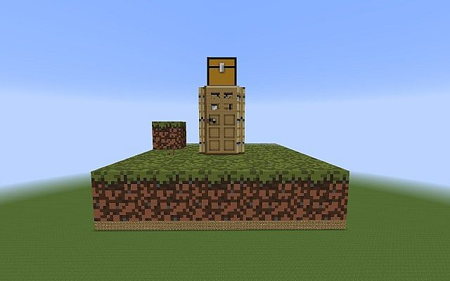 outer view - Smallest House In The World Minecraft