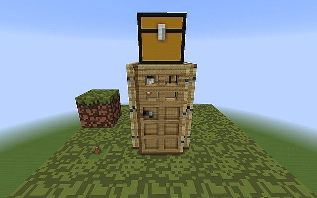 new version closer look new doors - Smallest House In The World Minecraft