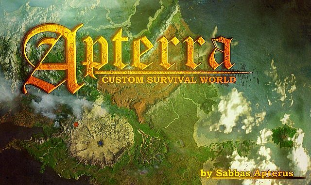 Apterra huge custom survival map download included minecraft project apterra huge custom survival map download included gumiabroncs Choice Image
