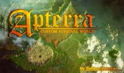 APTERRA - huge custom survival map (download included) Minecraft