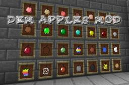 "[1.6.4][SSP/SMP][Forge] ""Dem Apples+"" Adds More Apples, More Mobs, More Items, More Tools, + Much More To Be Added!"