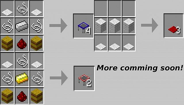 If S Trampolines 1 6 4 Now With Mats 0 0 2 Minecraft Mod