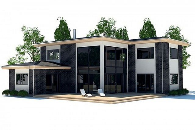 Minecraft huis modern house 537 including map download for Modern house schematic
