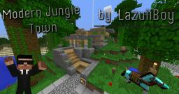Modern Jungle town Minecraft Project