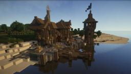 Epic Medieval Seaport [ + Download ] Minecraft