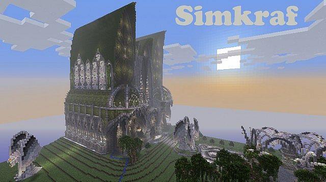 Simkraf TOWN ! Massive Cathedral World Warp !!!