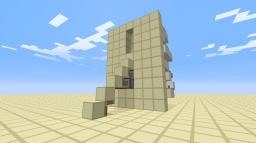 World First 5 blocks out the wall staircase. Minecraft Map & Project