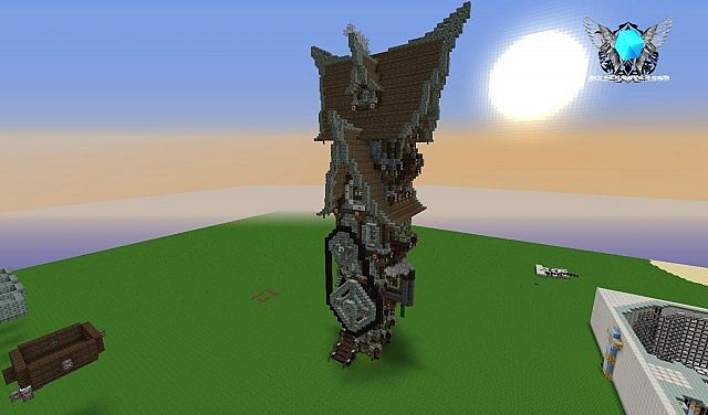 Simple Steampunk House Old Project Minecraft Project