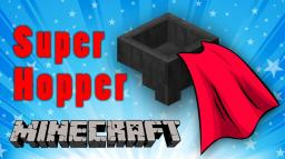 Minecraft Super Hopper Sorter Minecraft Map & Project