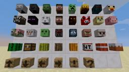 [1.6.4] [Forge] [SSP|SMP] Mob Heads Minecraft Mod