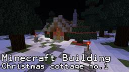 Christmas Cottage Building Tutorial Minecraft Blog