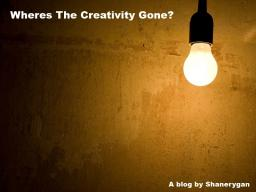 Wheres the creativity gone? Minecraft Blog Post