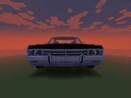 Chevy Impala 1967 JerrMTFK Minecraft Map & Project