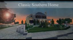 Classic Southern Home -- 400 Sub Thank you! Minecraft Map & Project