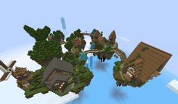 The floating island of elstar Minecraft Map & Project