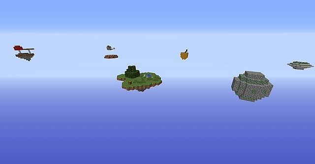 Skyblock Multi-Islands Map Minecraft Project