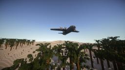 AC-130 - The most realistic AC-130 by E. Minecraft Map & Project