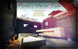 Modern Interior Pack - [DOWNLOAD] - Interior showcase/tutorial - Ninaman Minecraft Map & Project