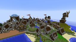 The town of Twich Minecraft Map & Project