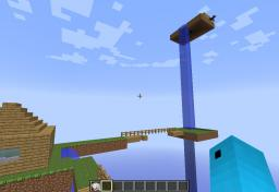 mini map aventure skyblock
