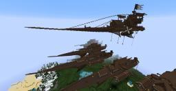 Minecraft Amazing Airship Build Minecraft Map & Project