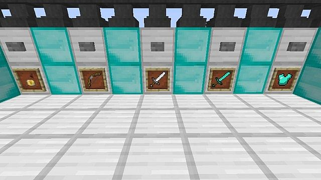Minecraft World Map - RS-Arena w/ classes and more