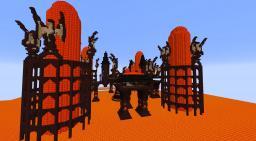 Fire Castle Minecraft