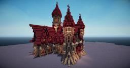 Dark medieval church Minecraft Map & Project