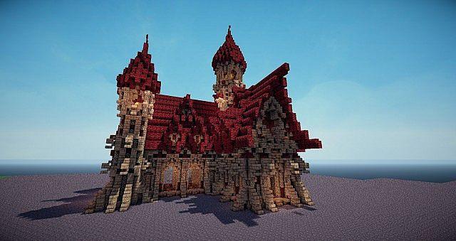 Dark Medieval Church Minecraft Project