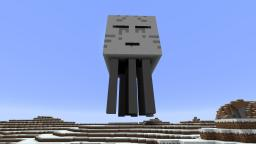5th December - Ghast Statue Minecraft Project