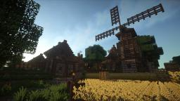 Epic Medieval Village + [ Download ] Minecraft