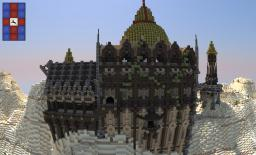 Desert themed Castle Minecraft