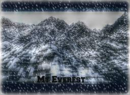 Mount Everest Terrain Minecraft Project