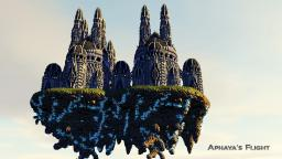 Aphaya's Flight - Fantasy build Minecraft