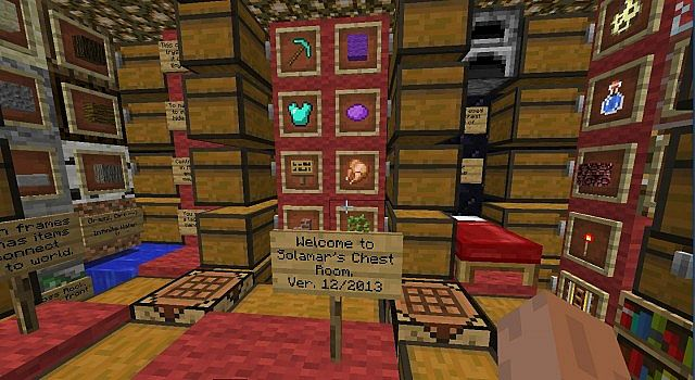 Mini Storage Room With Very Full Chests Ver 12 2013