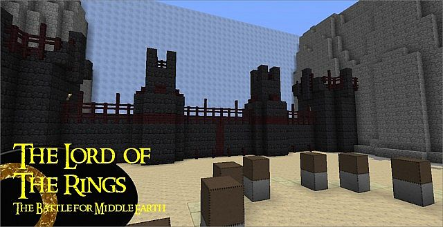 Lord Of The Rings Adventure Map 1 7 Finished Minecraft