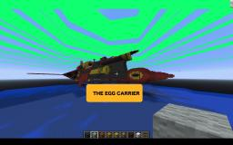 Egg carrier from sonic adventure Minecraft Map & Project