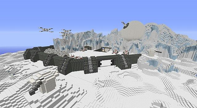 star wars rebel hoth base by ghostmod minecraft project. Black Bedroom Furniture Sets. Home Design Ideas