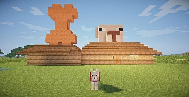How To Build Dog Houses In Minecraft