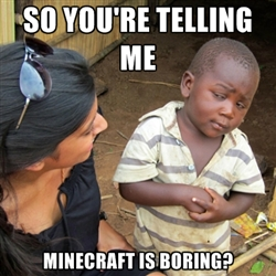 When You're Really Bored Minecraft