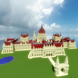 Hungarian Parliament Minecraft Map & Project