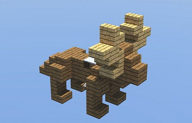 christmas reindeer minecraft project