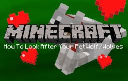 How To Care For Your Pet Wolf/Wolves Minecraft