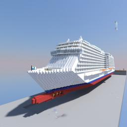 Royal Princess Full Replica (Cancelled) Minecraft Map & Project