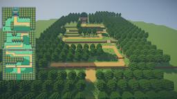 Kanto Region - Route 1 [Pokéworld Project] Minecraft Map & Project