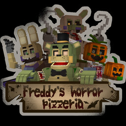 Haloween FNaF vanilla 3D |Freddy Fazbear's Pizzeria (Halloween edition)| RP Minecraft Map & Project
