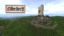 OLBRÜCK - Medieval Themed RPG [NPCs, Quests, Detailed World Map] Minecraft Map & Project