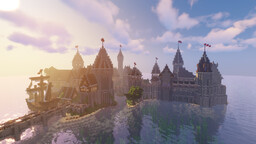 Survival Medieval seaside town Minecraft Map & Project