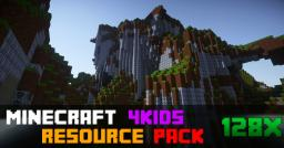 [1.7.10][128x]Minecraft 4Kids Revived Minecraft Texture Pack