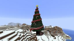 3rd Advent - Christmas Tree Minecraft Map & Project